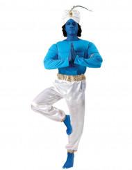 Orientalt blå lampeånd kostume