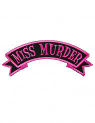 Patch gotisk Miss Murder