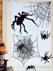 Klistermærker 24 edderkopper Halloween