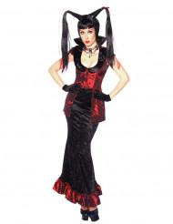 Gotisk heksekostume til kvinder