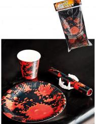 Dekorationskit uhhyggelig bord