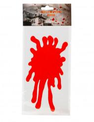 Klistermærke blodplet 30 x 15 cm Halloween!