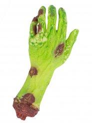 Blodig zombie hånd 26 x 8 x 4 cm til Halloween