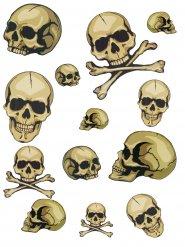 Klistermærker kranier Halloween