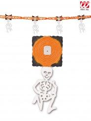 Guirlande skelet orange