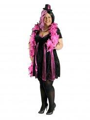Kostume cabaret sort og rosa til kvinder