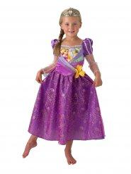 Rapunzel™ prinsessekjole med tiara til piger