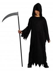 Kostume genfærd til børn sort Halloween