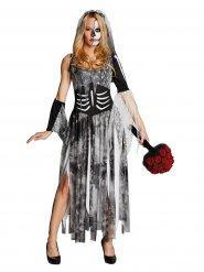 Kostume skeletbrud til kvinder Halloween