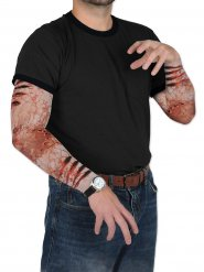 Falske zombieærmer til Halloween