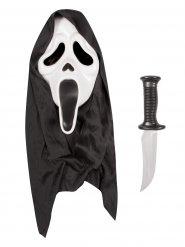 Scream™ kniv og maske til voksne