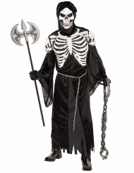 Skræmmende skeletkostume til voksne