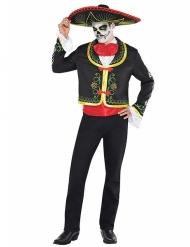 Kostume Dia de los Muertos til mænd Halloween