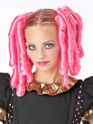Tilbehør krøllet lyserødt hår