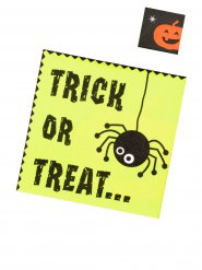 20 Servietter trick or treat 33 x 33 cm