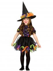 Halloween heksekostume til piger