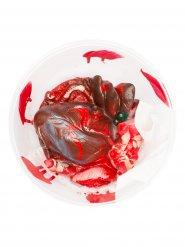 Blodig hjerte - Halloween dekoration