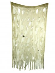 Edderkop forhæng -. Halloween dekoration 120x200cm