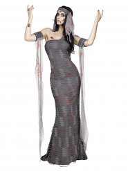Zombie mumie kostume kvinde