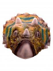 Triceratops dinosaur maske