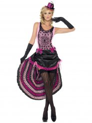 Kostume burlesque danserinde kvinde