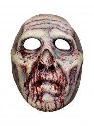 Blodig zombie maske til voksne
