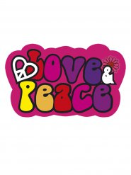 Hippie festpynt - Peace & Love