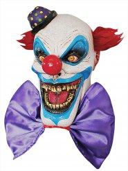 Latex maske frygtindgydende klovn