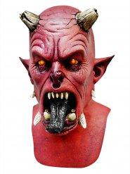 Rød demon maske Halloween