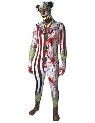 Kostume blodig klovn til voksne Morphsuits™ Halloween