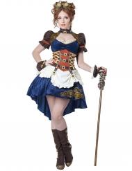 Kostume retro futurisk steampunk til kvinder