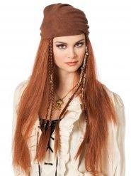 Paryk pirat med bandana til kvinder