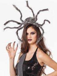 Hovedbeklædning edderkop grå Halloween