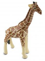 Dekoration giraf oppustelig 74 x 65 x 25 cm