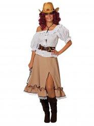 Cowgirl nederdel til kvinder