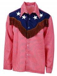 Cowboy skjorte i store størrelser til mænd