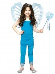Vinger og tryllestav blå fe til piger