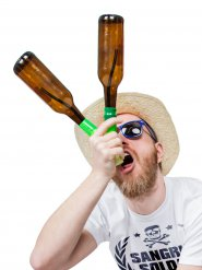 Dobbelt flaskeølbong Headrush Beer bong®