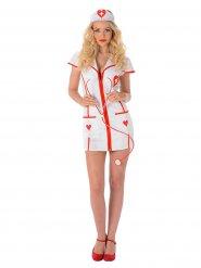 Sexet sygeplejerske kostume til kvinder