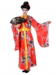 Kostume Geisha rød til kvinder