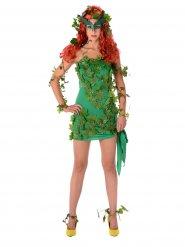 Kostume sexet grøn superskurk til kvinder
