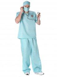 Kostume kirurg læge blå til mænd