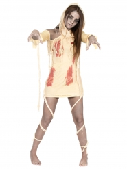 Kostume blodig mumie til kvinder Halloween