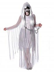 Kostume spøgelse hvidt til kvinder Halloween