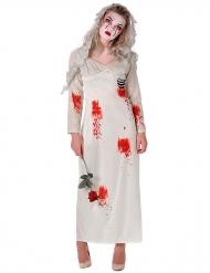 Kostume zombiebrud kvinde