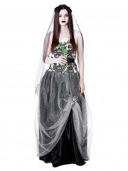 Kostume gotisk brud Halloween til kvinder