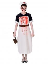 Kostume skræmmende sygeplejerske Halloween