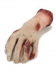 Dekoration blodig hånd