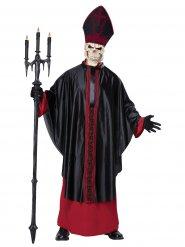 Dyster pave skelet kostume voksen