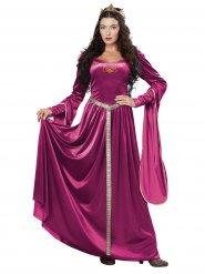 Kostume kjole prinsesse middelalder til kvinder